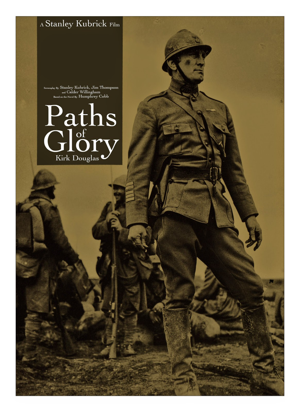 paths of glory vs all quiet on the western front essay 'paths of glory,' like 'all quiet on the western front,' was written by someone who actually survived that war published in 1935, five year paths of justification i suspect that many people who are familiar with stanley kubrick's classic film 'paths of glory' are unaware that it was based upon a novel by an author who is mostly forgotten.