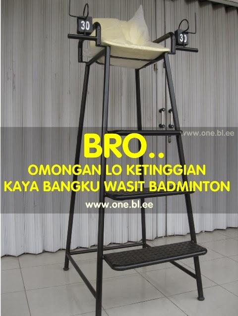 Bro, Omongan Lo Ketinggian Kaya Bangku Wasit