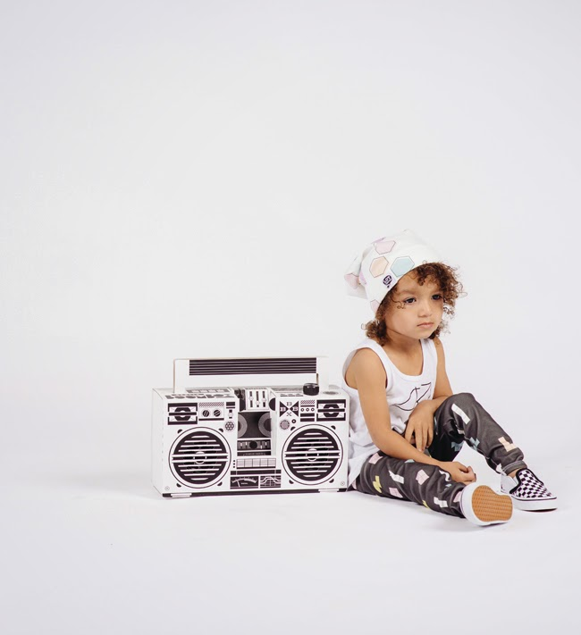 LOT801 SS15 kids clothes collection + Boombox Berlin