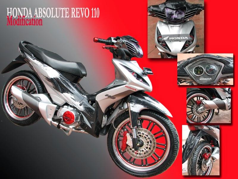 Foto Modifikasi Honda Absolute Revo Terpopuler