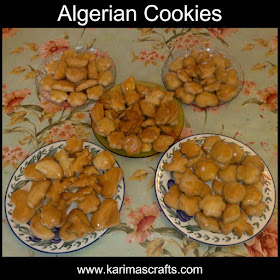 algerian cookies recipe tutorial muslim blog