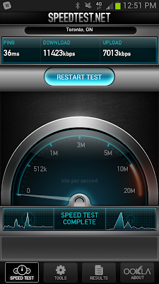 Samsung S3 on Rogers LTE