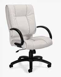 OTG2701 White Office Chair