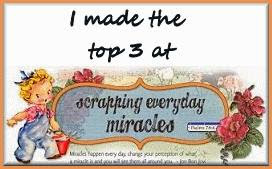 Scrapping Everyday Miracles 2016 July challenge winners