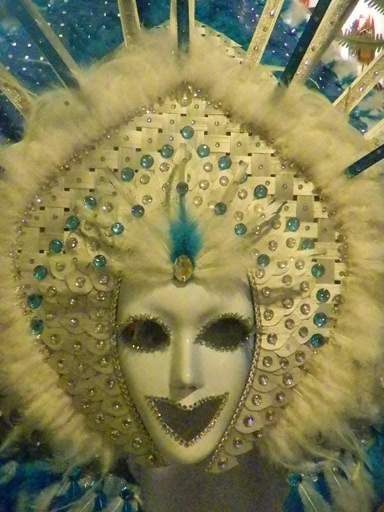 Smiling White Mask