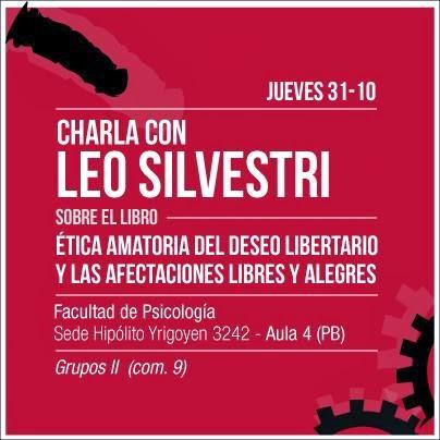 Presentación de Ética Amatoria del Deseo Libertario y las afectaciones libres y alegres