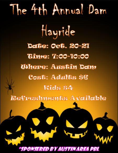 10-20/21 Austin Dam Hayride
