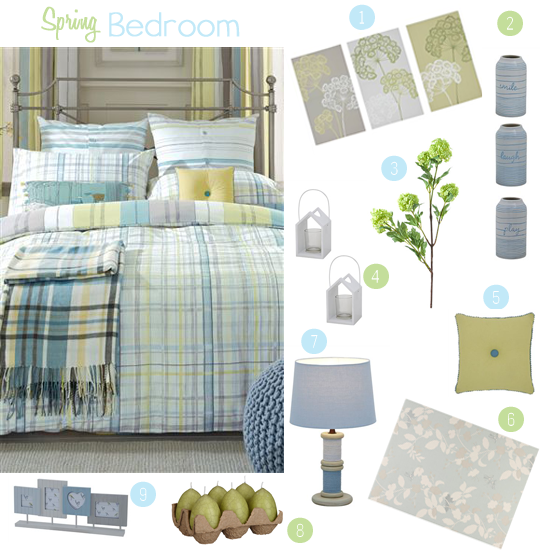 Spring bedroom ideas love from mummy for Cow bedroom ideas