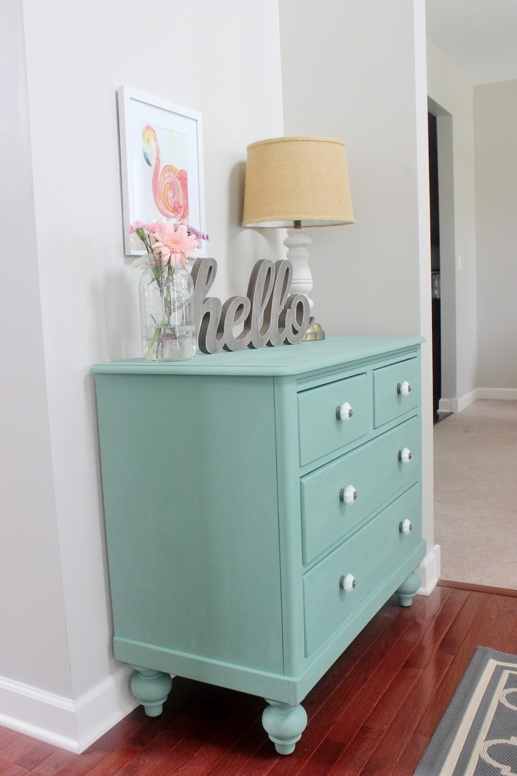 Dresser Makeover With Martha Stewartu0027s Vintage Decor Chalk Paint