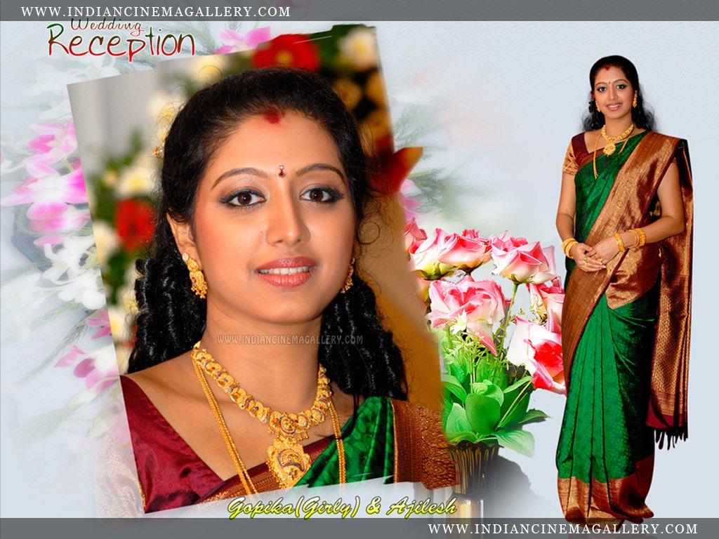 actressmallus: wedding album gopika