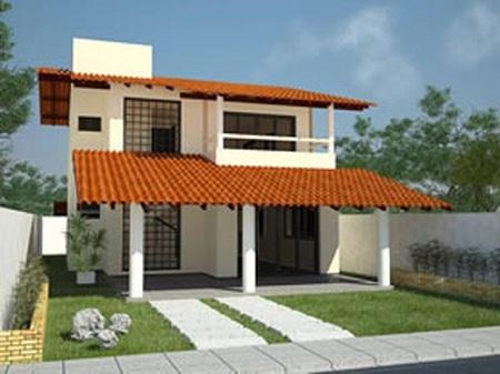 Modelos de casas tudo sobre engenharia for Tipos de casas para construir