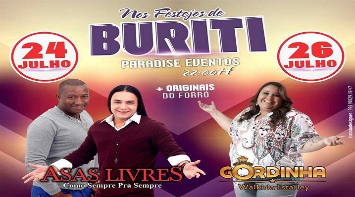 Shows dos Festejos de Buriti (MA) 2016