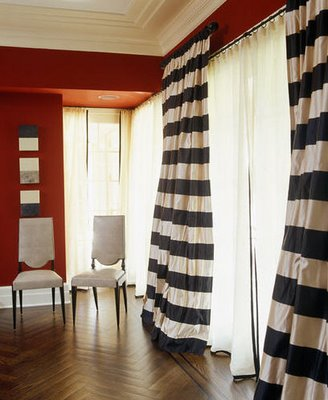 Modern Drapes Window Treatments By Janet Hild