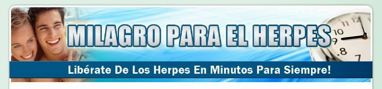 Elimina y Cura El Herpes Rapidamente