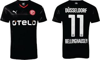 enkosa sport tempat berita online pakaian olahra klub besar eropa dan amerika Jersey Tandang Fortuna Dusseldorf 2015/2016