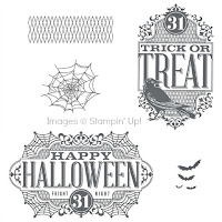 Stampin' Up! Witches' Night stamp set artwork images.