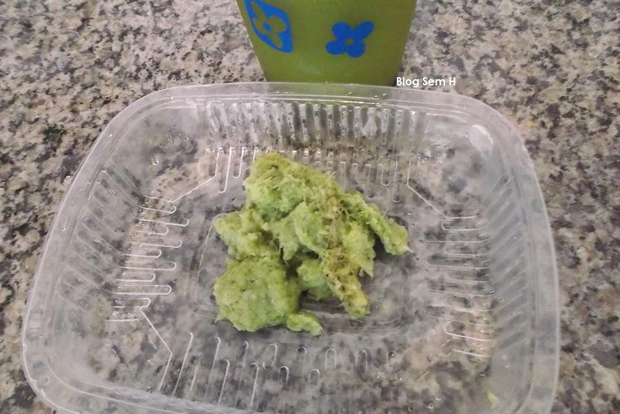 Receita de bolo com o bagaço do suco verde