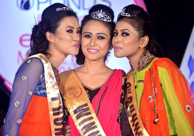 Binita Chhetry wins Pond's Eclectic Model Hunt 2015