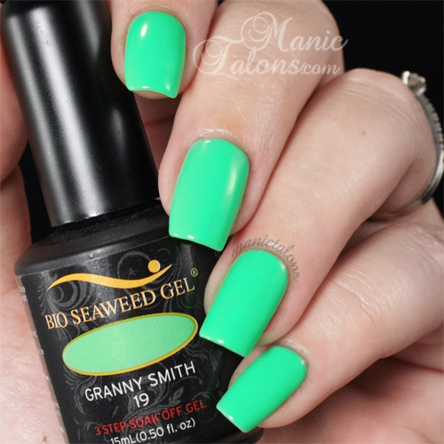 Bio Seaweed Gel Granny Smith Swatch