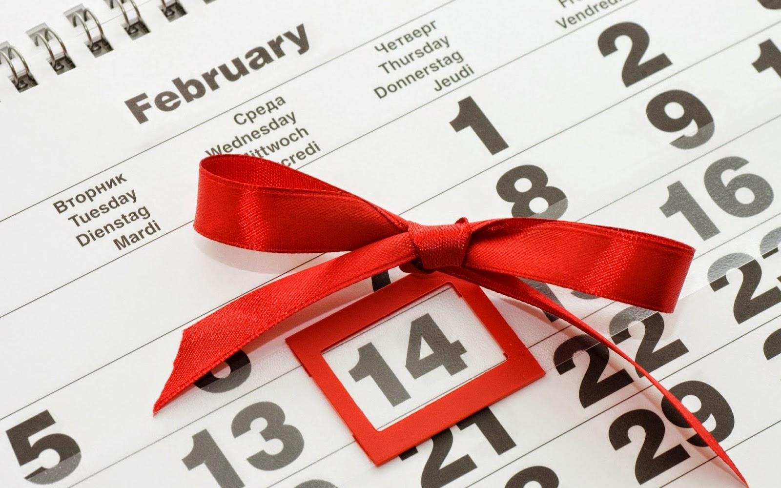 9 cosas que nos sabías del 14 de febrero… ni te importaban