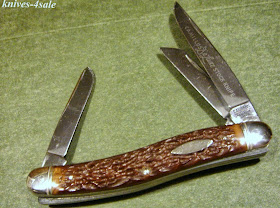 Antique Risque Nude Women Pocket Knife