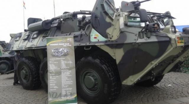 APRV-1V yang berbasis chasis truk komersial pada tahun 2004