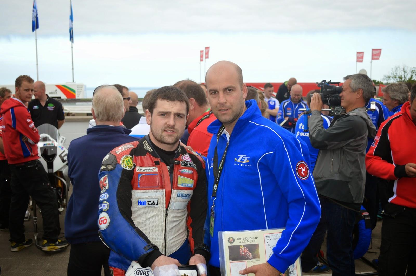 Michael Dunlop TT Isla de Man
