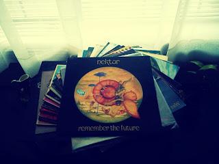 Vinyl Record Collection Nektar iridescentliving.blogspot.com