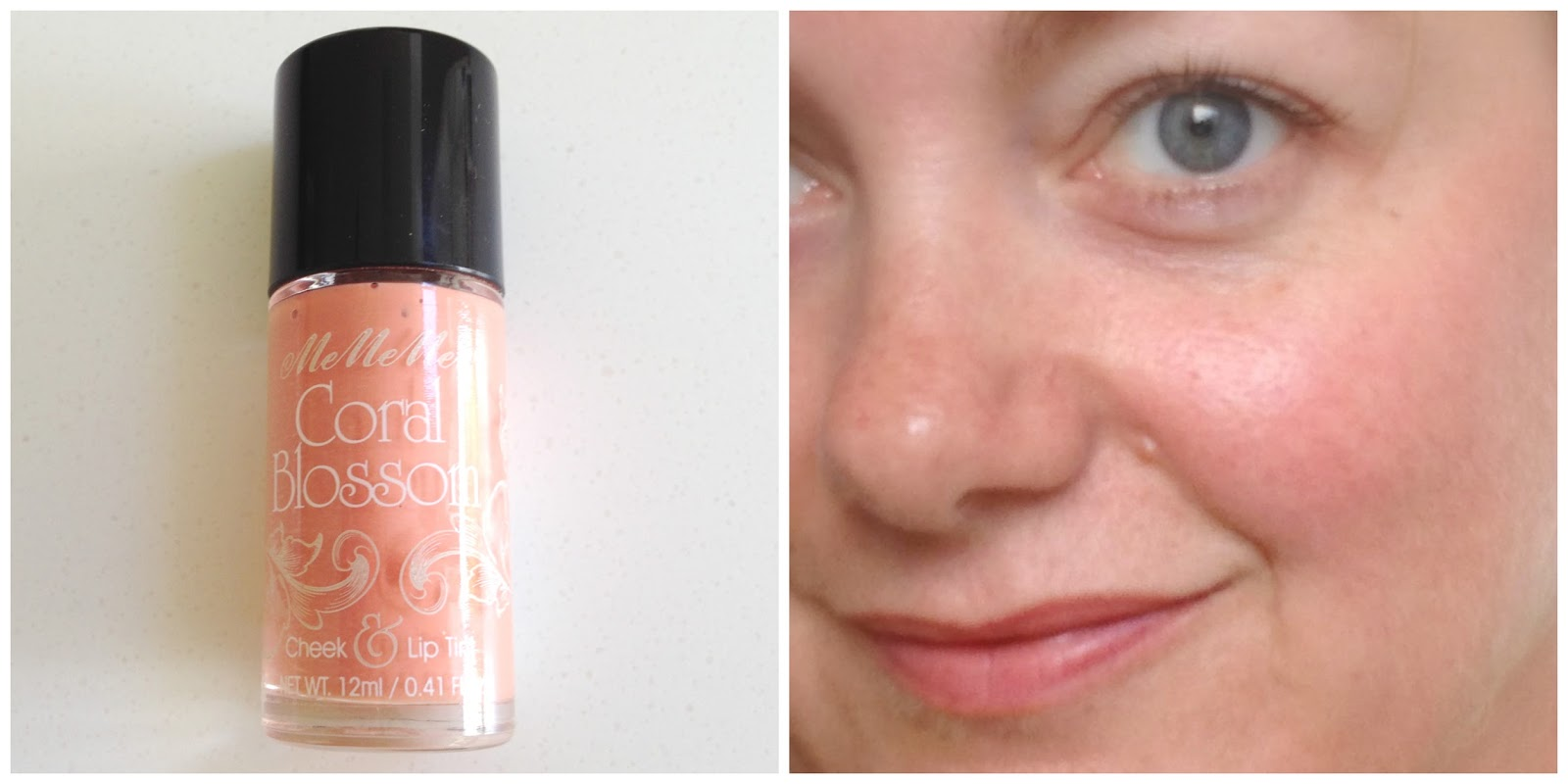 MeMeMe Cosmetics Coral Blossom Lip and Cheek Tint