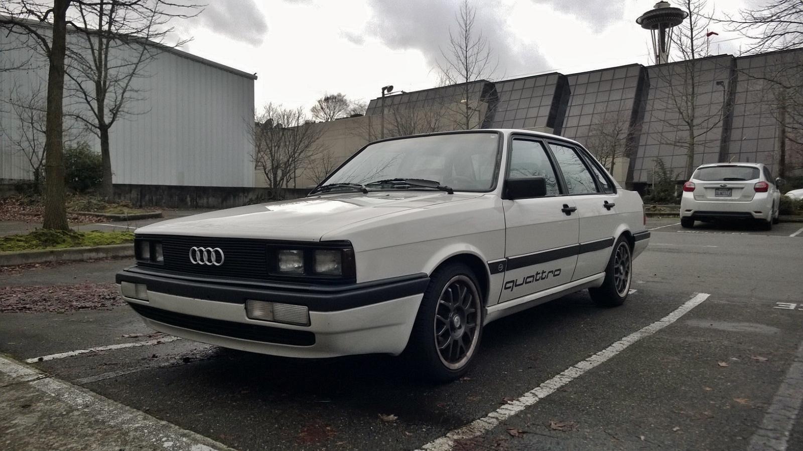 Seattle S Parked Cars 1984 Audi 4000cs Quattro