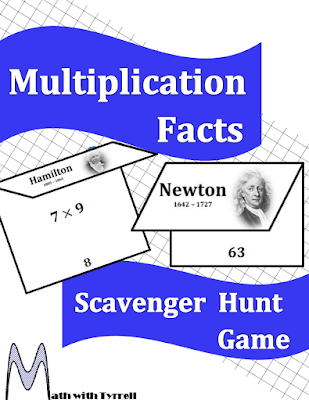 https://www.teacherspayteachers.com/Product/Multiplication-Facts-Scavenger-Hunt-Game-387567