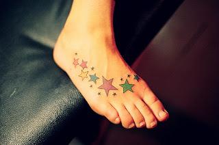 Tatuagens nos Pés