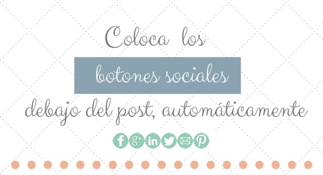 redes sociales follow debajo del post