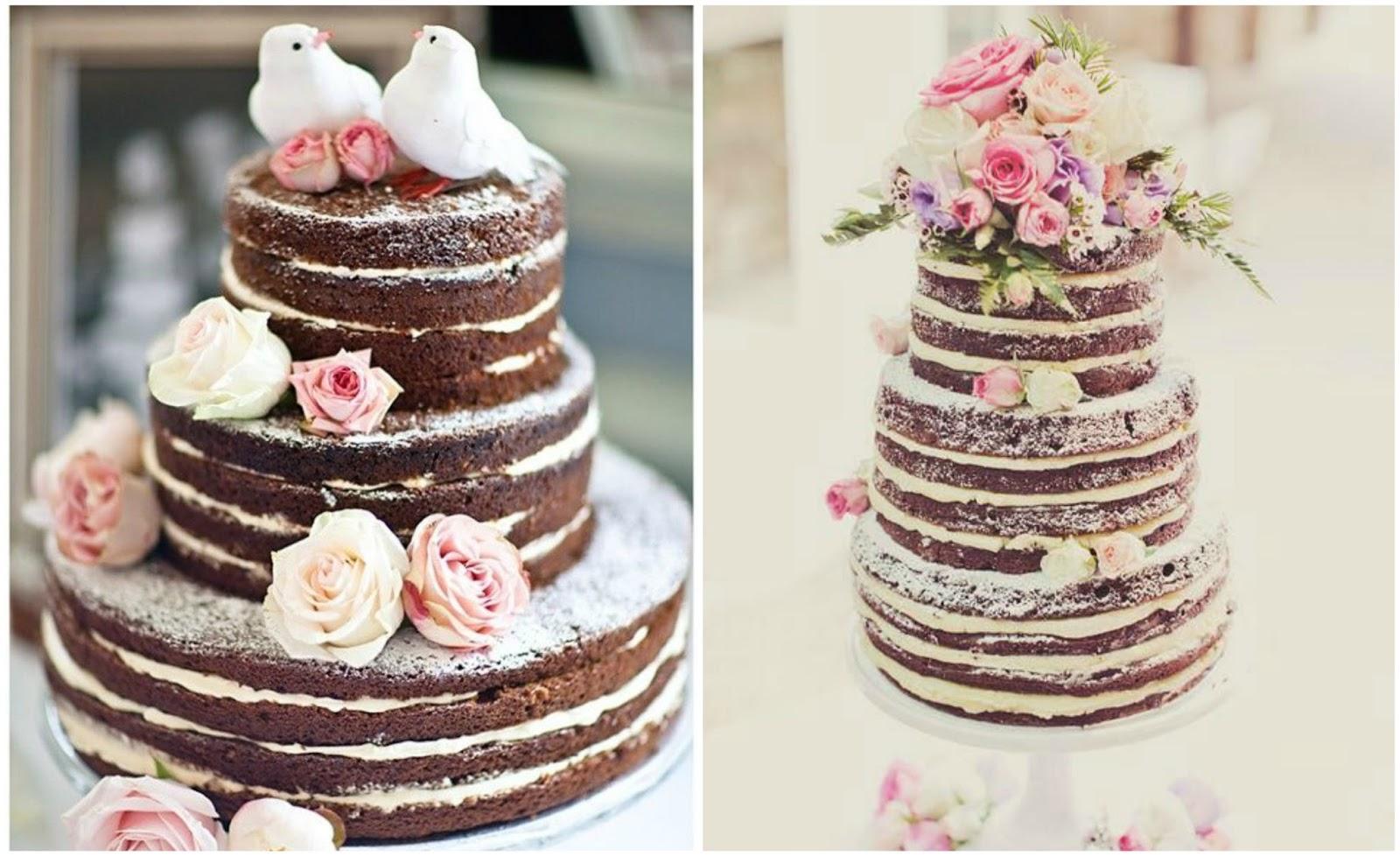 Svatební dorty bez marcipánu » Inspirace » Magazín