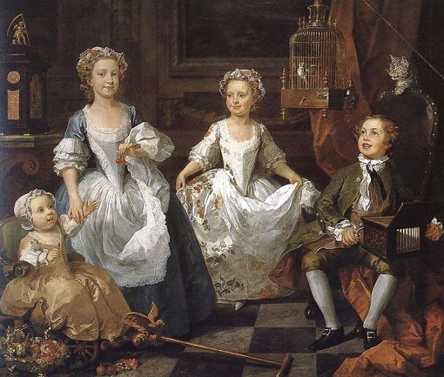 William Hogarth English Artist The Graham Children Teresa Magni