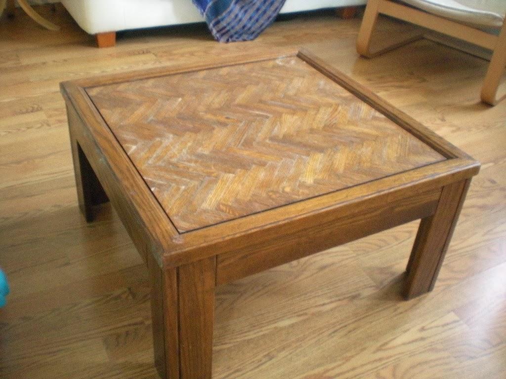 w e s t winnipeg etsy street team diy coffee table make