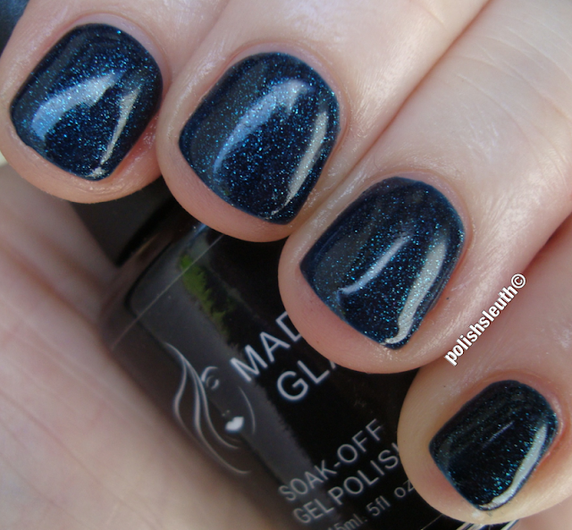 Madam Glam's Glittering Midnight Blue