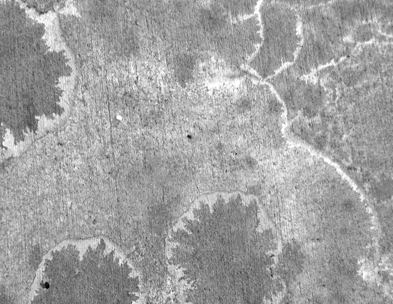 salt stained concrete texture