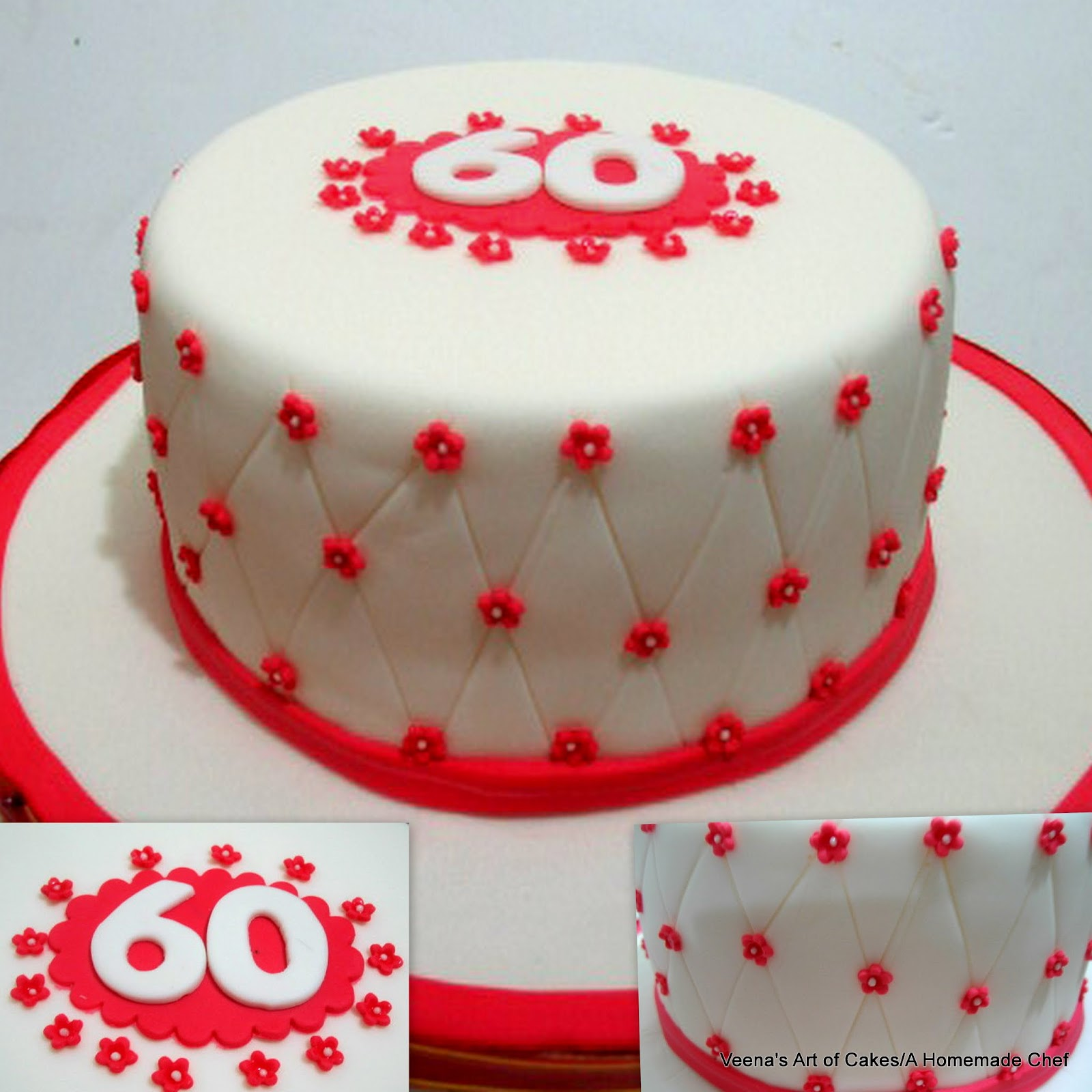 Heres A Polka Dot Birthday Cake For Mom Who Loves Red Orange And Dots Simple Yet Moist Chocolate With Buttercream Homemade