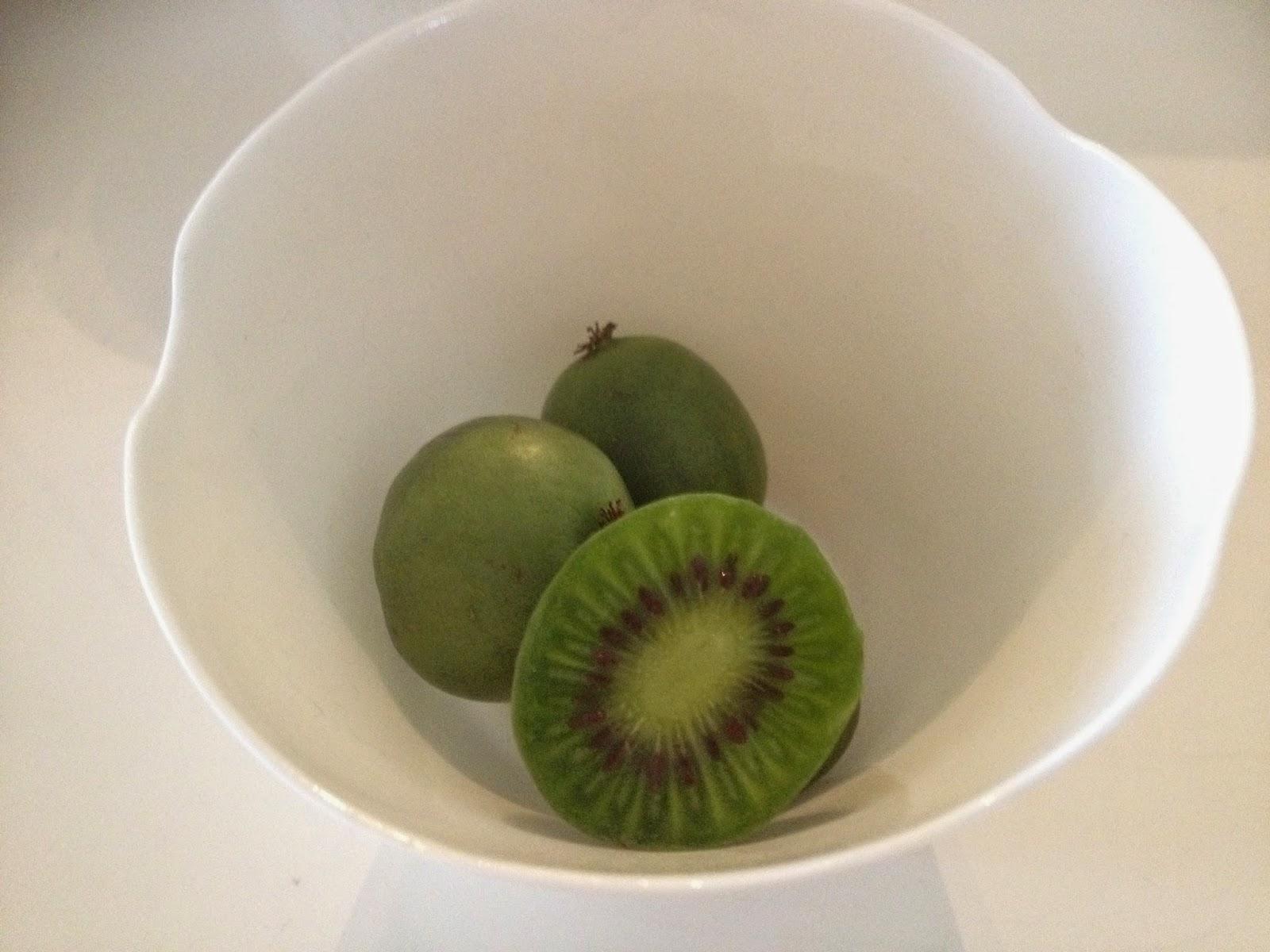 Binnenkant van een kiwiberry