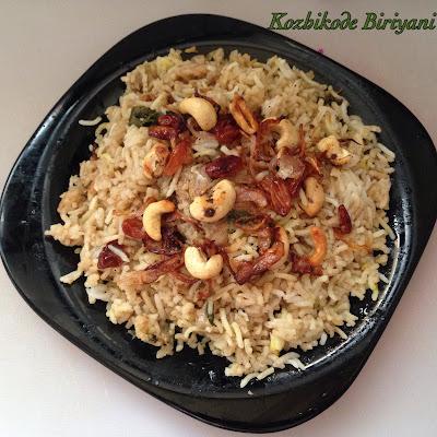Kozhikode Chicken Biriyani