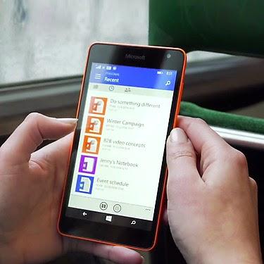 Smartphone Handal Layar Lebar