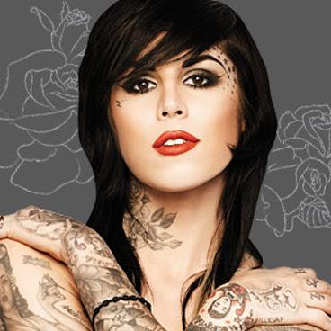 Kat von D Tattoos Designs