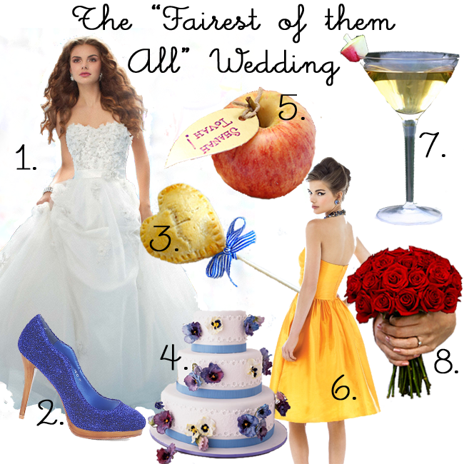 A fairy tale wedding is the perfect opportunity to wear that dream princess