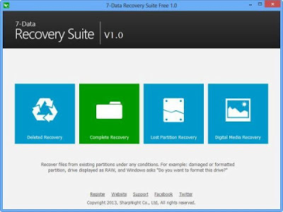 7-Data Recovery Suite 2.0.0 Multilanguage Portable Free Download