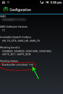 Unlock bootloader Live With Walkman