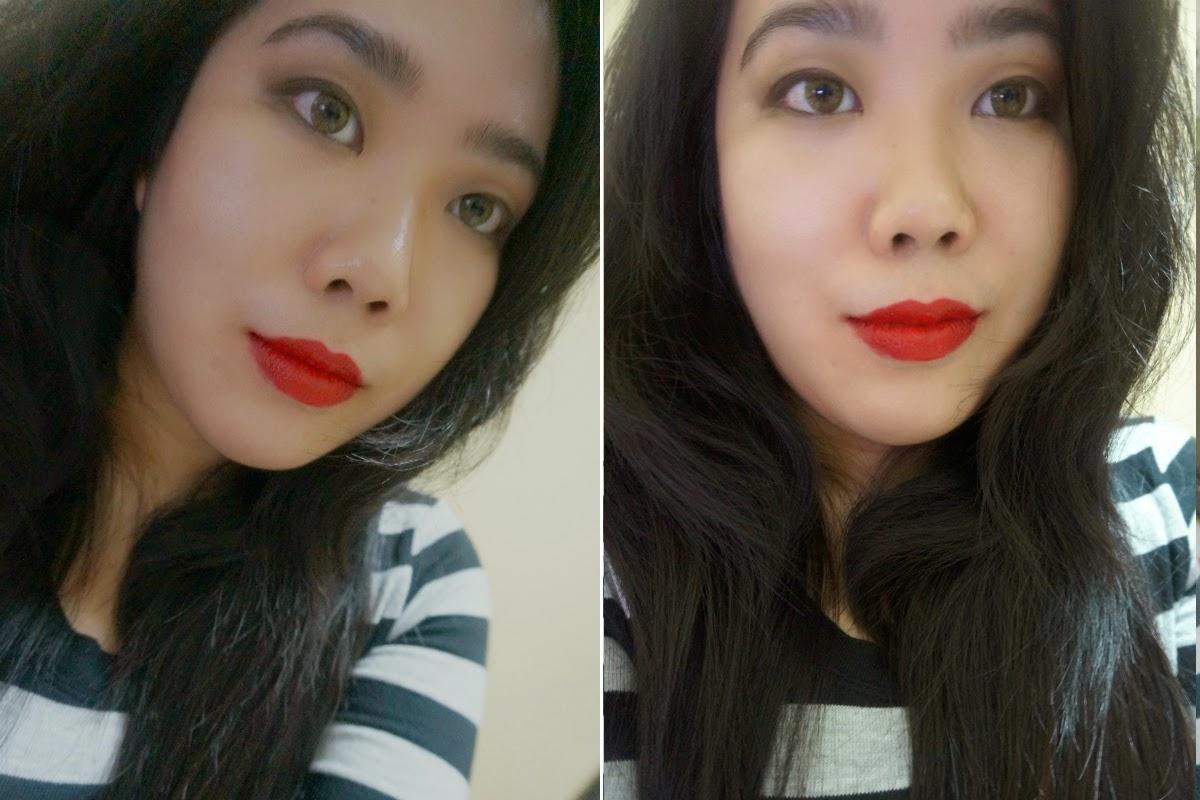 Wet n Wild Mega Last Matte Lipstick in Stoplight Red