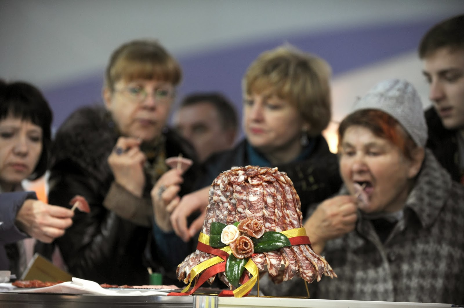 Agriculture, Belarus, Cap, Economy, Exhibition, Food, Hat, International exhibition of food and food technology, Meat, Minsk, Trade, Offbeat, News, Livestock,