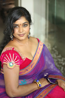Jayavani Item girl in Spicy Saree Blouse Pics must see