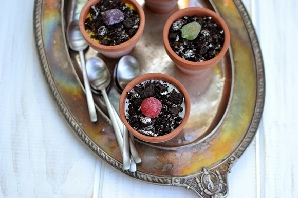 Kid's Flower Pot Dessert